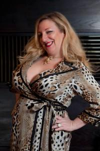 jo-King---leopard-print-dress---fashion-show