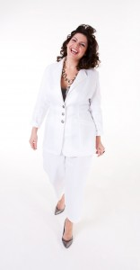 madeleine-in-white-trouser-suit