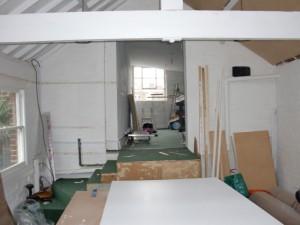 Studio---building-in-progress--dressing-room-area