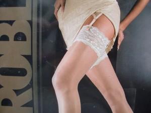 stockings--cream