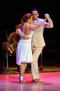 Tango--couple