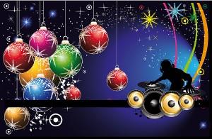 Christmas Blog Party invitation