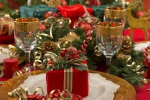 Christmas blog table setting