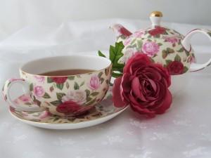 New years blog teacup