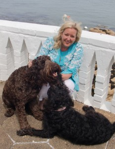 Summer-blog---carolyn-and-dogs---2010