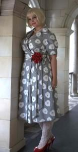 Yoka-in-Silver-Floral-Dress