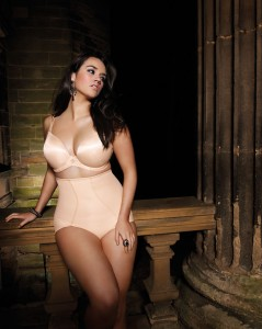 SMOOTHING-NUDE-UNDERWIRED-MOULDED-PLUNGE-BRA-1221-CURVE-NUDE-SHAPER-BRIEF-8116-F