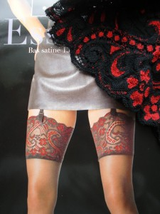 Stockings---red-tops