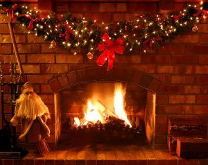 New Years blog fire