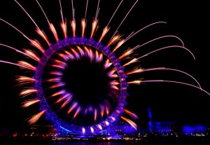 London Eye - New Years Eve 2013