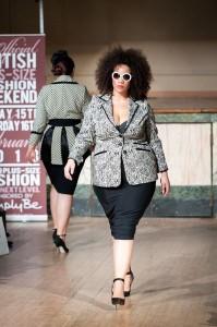 fashion show - olivia in Black and White - feb 2013